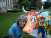 At the Cow Parade, West Hartford, CT