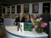 Signing for Simon & Schuster with Ellen Krieger